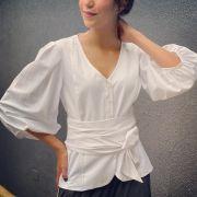 camisa faixa angelina