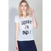 Camiseta Sorry I'm Bad