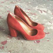 Sapato Camurça Ferrugem