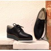 Sapato Flatform Marinho