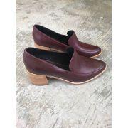 Sapato Napa Soft - Vinho