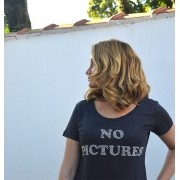 T-shirt No Pictures