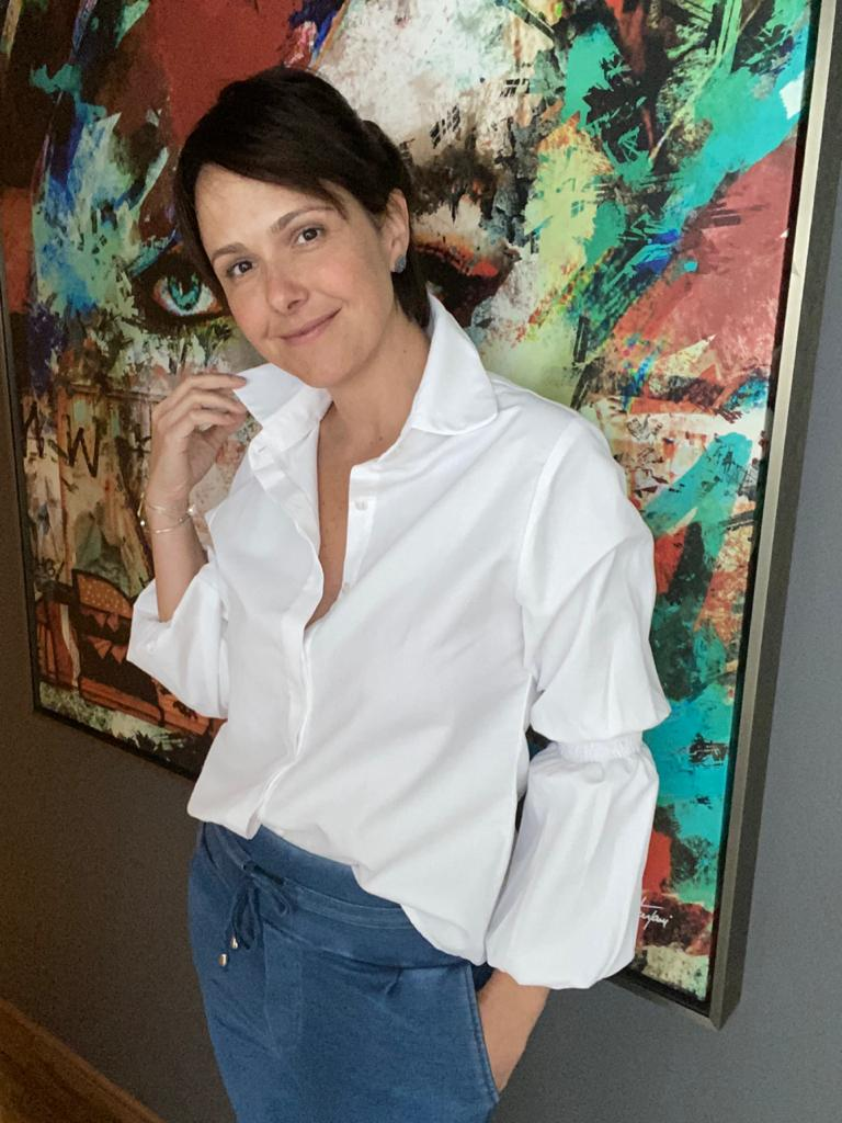camisa julia  - Angelina Vai às Compras