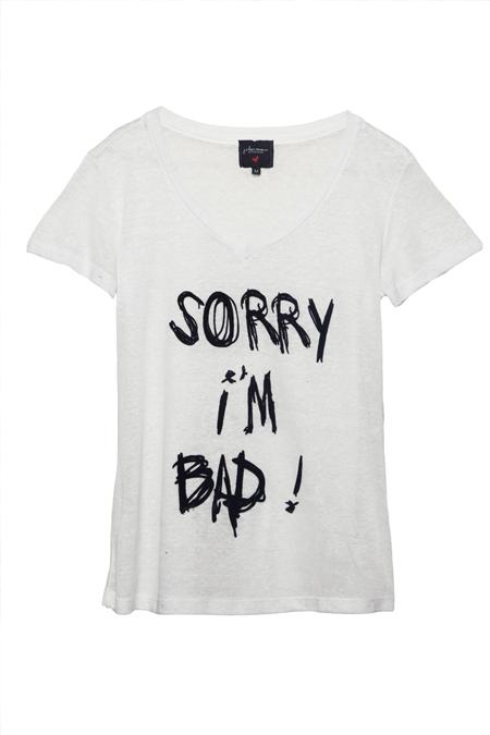 Camiseta Sorry I'm Bad