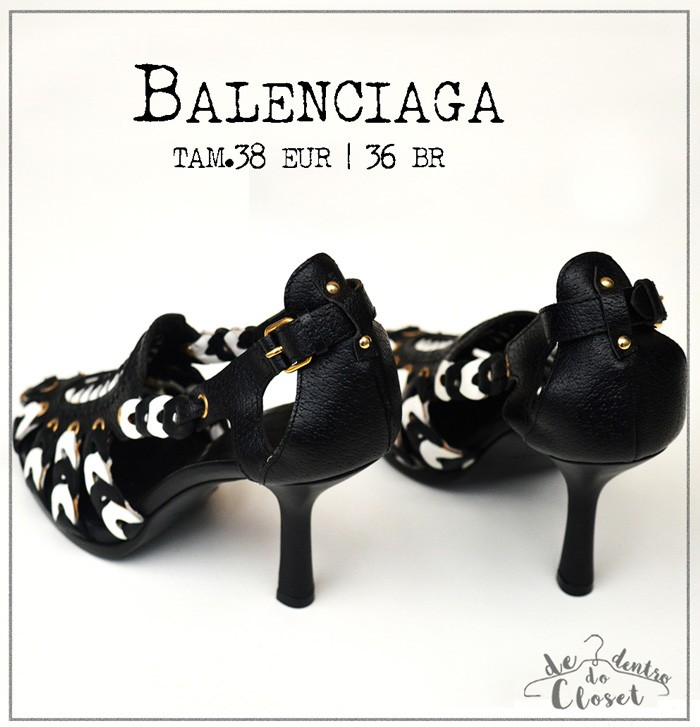 Sandália Tiras Balenciaga
