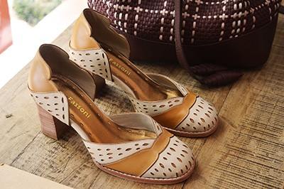Sapato Bico Redondo