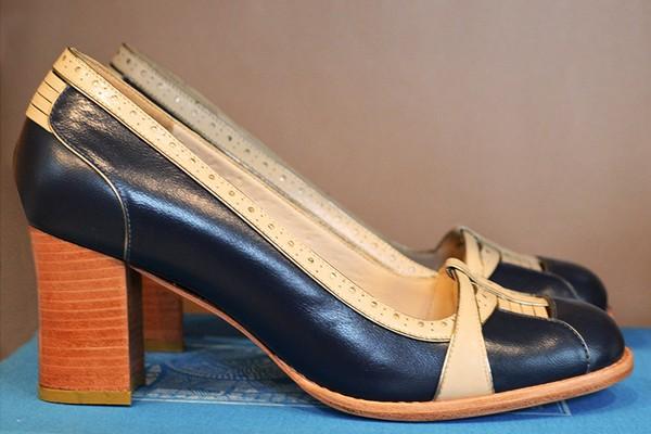 Sapato Boneca Marinho