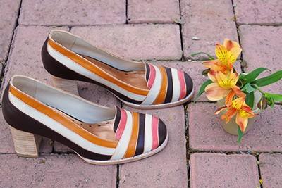 Sapato Colorido