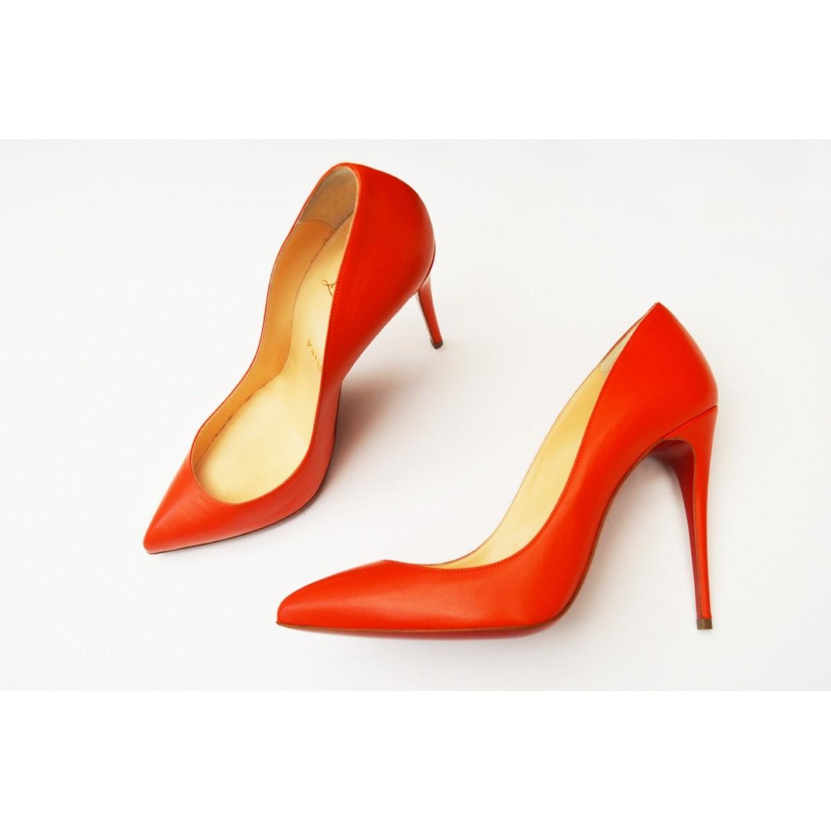Sapato Louboutin Laranja