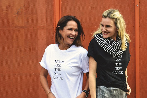 T-shirt MOMS