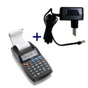 Calculadora Eletrônica de Mesa Elgin MA 5111 12 Dígitos Visor LCD Bobina + Adaptador Bivolt