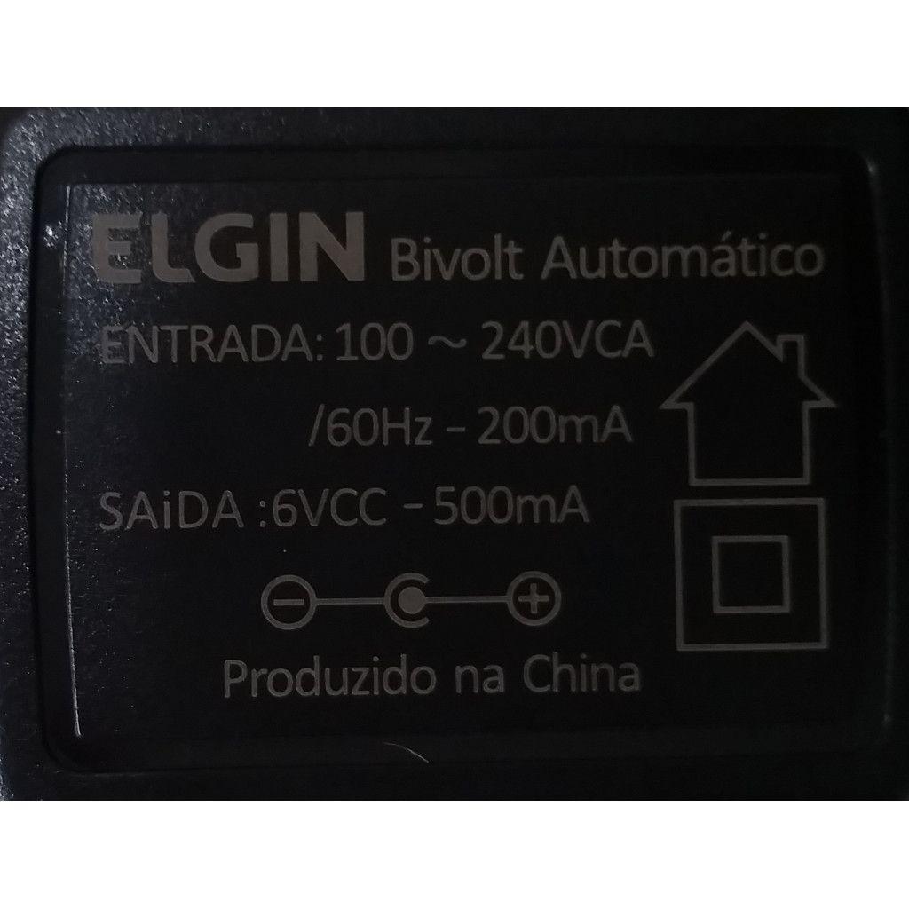 Adaptador de Energia Bivolt para Calculadora Eletrônica de Mesa Elgin MA 5111