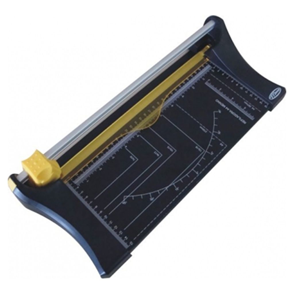 Combo Refiladora de Papel Compacta A4 Menno Corta Até 10 Folhas de 75g + Cabeçote de Reposição Extra