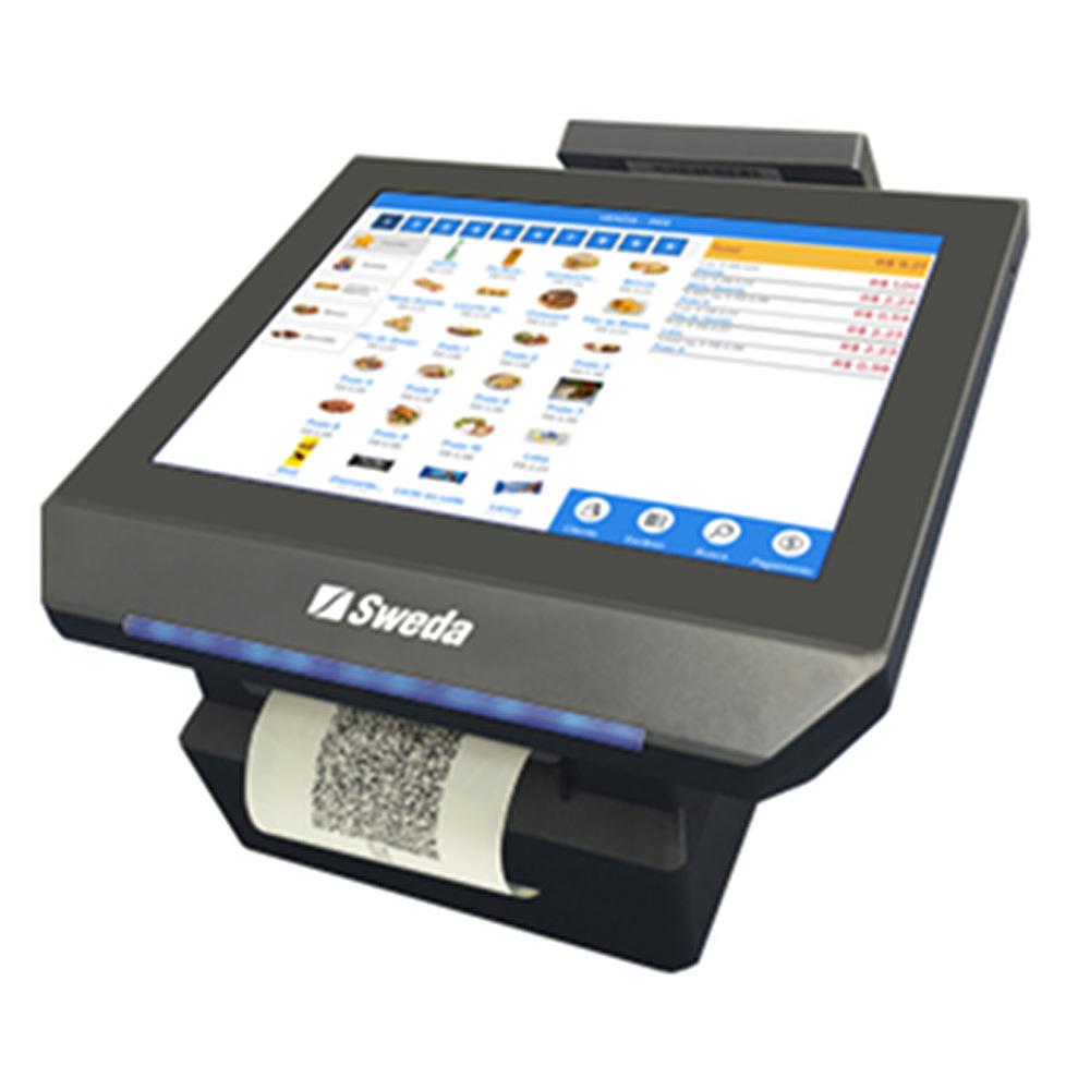Computador PDV Touch Completo Mobox Onix Sweda c/ Impressora + Software