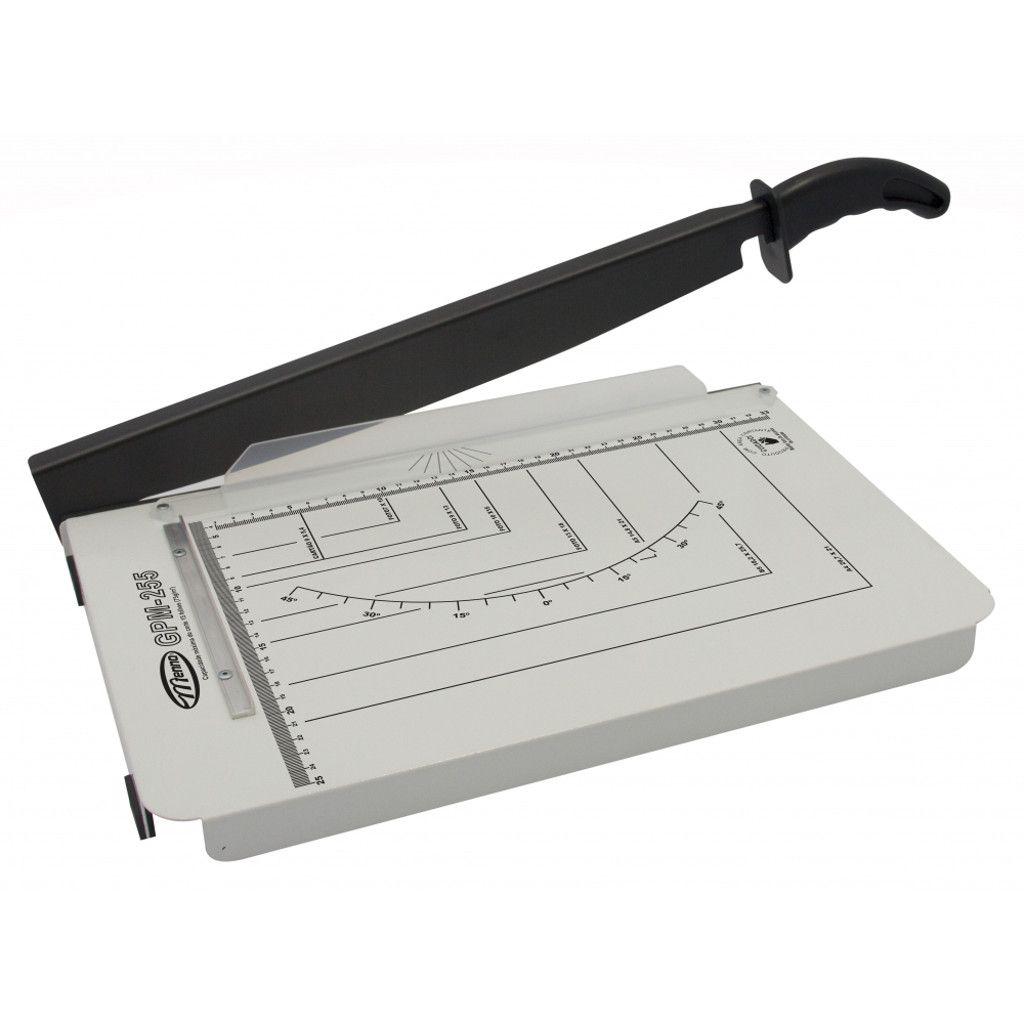 Guilhotina de Papel A4 Menno GPM 255 Corte 330mm Facão Afiado Corta até 15 Folhas Simultâneas - Menno