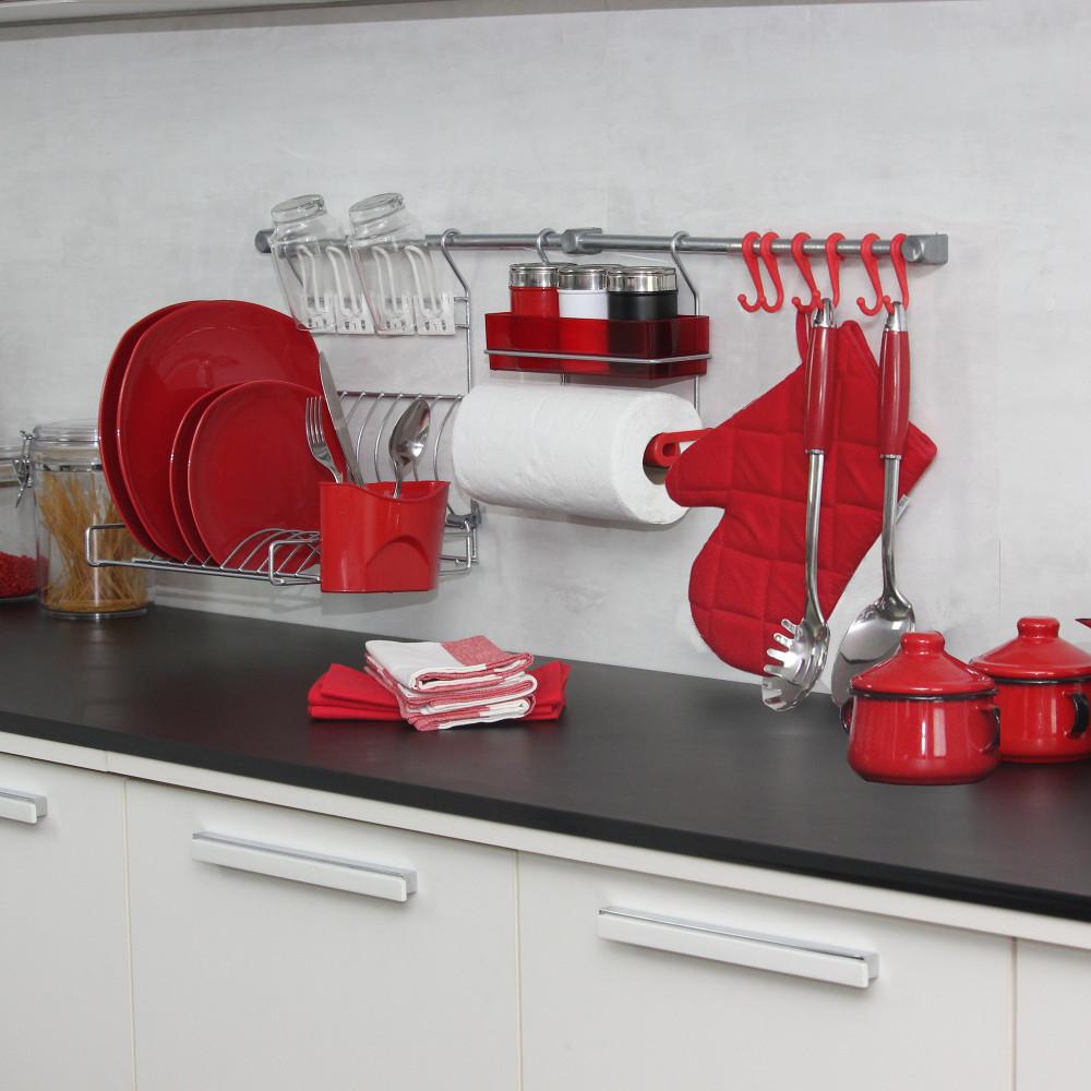 Kit de Cozinha Suspensa Rekint Master D Metaltru 11 Peças