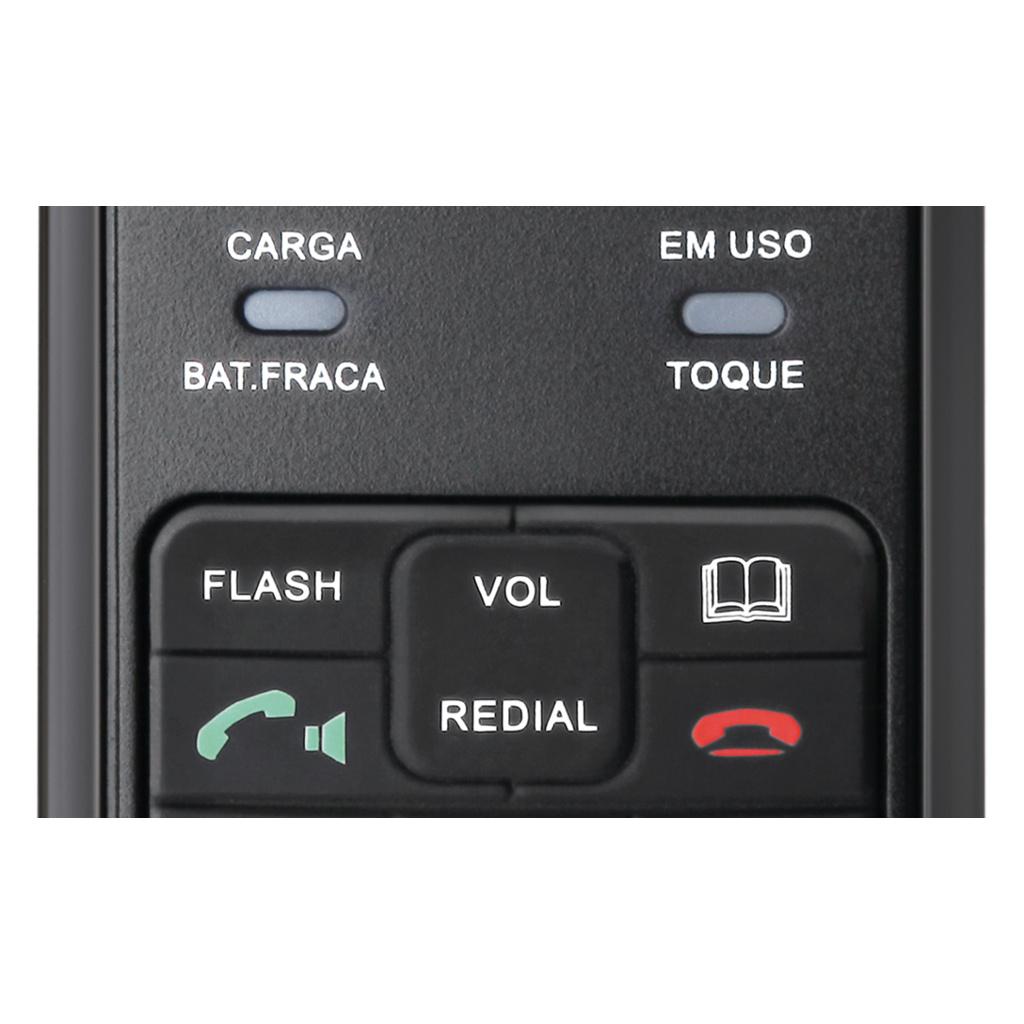 Telefone Sem Fio Elgin TSF 3500 Dect 6.0 1.9 Ghz C/ Viva-voz