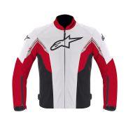 Jaqueta Alpinestars Viper Air Branco Vermelho