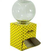 Baleiro para confeitos - Amarelo e marrom