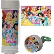 Bolinha de Sabão Personalizada Princesas
