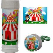 Bolinha de Sabão Personalizado Circo