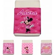 Borracha Personalizada Minnie Rosa