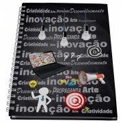 Caderno Universitário 10 materias profissões