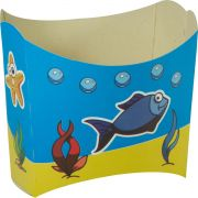 Caixa De Batata - 8 Unid - Fundo Do Mar
