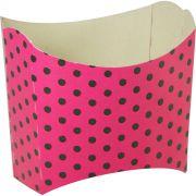 Caixa De Batata - 8 Unid - Pink E Preto