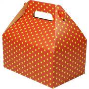 Caixa Surpresa M - 8 Unid - Vermelho E Amarelo