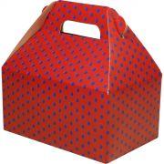 Caixa Surpresa M - 8 Unid - Vermelho E Azul