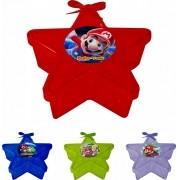 Caixinha Acrílica Estrela Super Mario