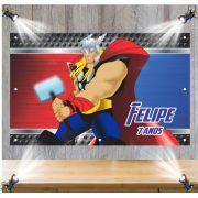 Painel de Festa Thor - Mod 02
