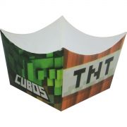 Forminha Montada - 24 Unid - Cubos