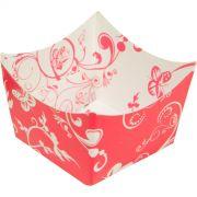 Forminha Montada - 24 Unid - Floral Rosa