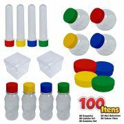 Kit 3 Lembrancinhas Festa com 100 Itens para Personalizar