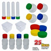 Kit 3 Lembrancinhas Festa com 25 Itens para Personalizar