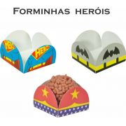 Kit Forminha 4 Pétalas Heróis