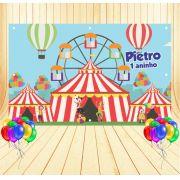 Painel de Festa Circo - Mod 01