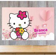 Painel de Festa Hello Kitty - Mod 01