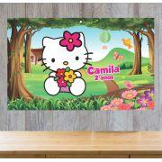 Painel de Festa Hello Kitty - Mod 02