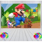 Painel de Festa Mario World - Mod 03