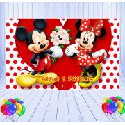 Painel de Festa Mickey e Minnie - Mod 01