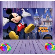 Painel de Festa Mickey - Mod 02