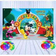 Painel de Festa Mickey Park - Mod 16