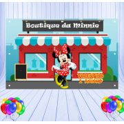 Painel de Festa Minnie - Mod 03