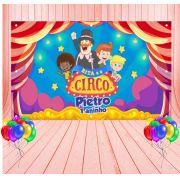 Painel de Festa Mundo Bita Circo - Mod 3