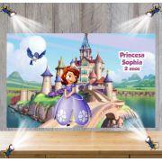 Painel de Festa Princesa Sofia - Mod 01
