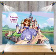 Painel de Festa Princesa Sofia - Mod 02