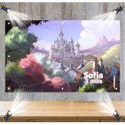 Painel de Festa Princesa Sofia - Mod 03